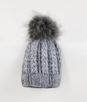 Lee Cooper talvemüts LOLA, Hall/melaanž